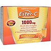 American Health, Ester-C Effervescent, Natural Orange Flavor, 1000 mg, 21 Packets, 0.35 oz (10 g) Each