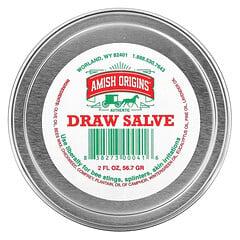 Amish Origins, Draw Salve,2 液量盎司(56.7 克)