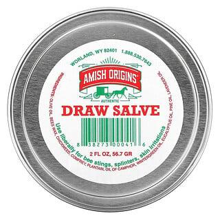 Amish Origins, Draw Salve, 2 fl oz (56.7 gr)