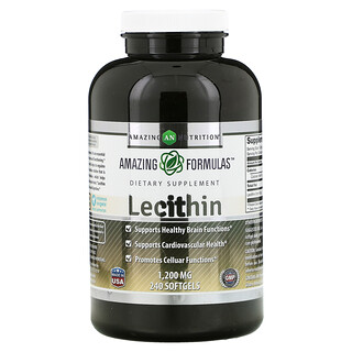 Amazing Nutrition, Lecithin, 1,200 mg, 240 Softgels