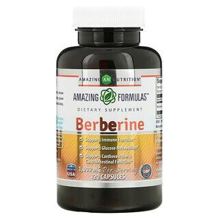 Amazing Nutrition, Berberine, 500 mg, 120 Capsules
