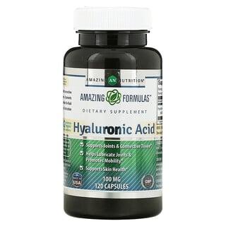 Amazing Nutrition, Hyaluronic Acid, 100 mg, 120 Capsules