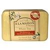 A La Maison de Provence, Hand & Body Bar Soap, White Tea, 8.8 oz (250 g)