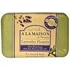 A La Maison de Provence, Мыло для рук и тела, цветы лаванды, 250 г (8,8 унции)