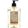 A La Maison de Provence, Hand & Body Liquid Soap, White Tea with Olive and Argan Oils, 16.9 fl oz (500 ml)