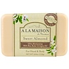 A La Maison de Provence, Hand & Body Soap, Sweet Almond, 8.8 oz (250 g)