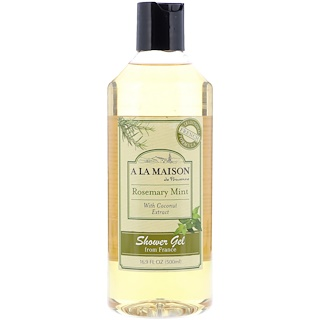 A La Maison de Provence, Shower Gel, Rosemary Mint with Coconut Extract, 16.9 fl oz (500 ml)