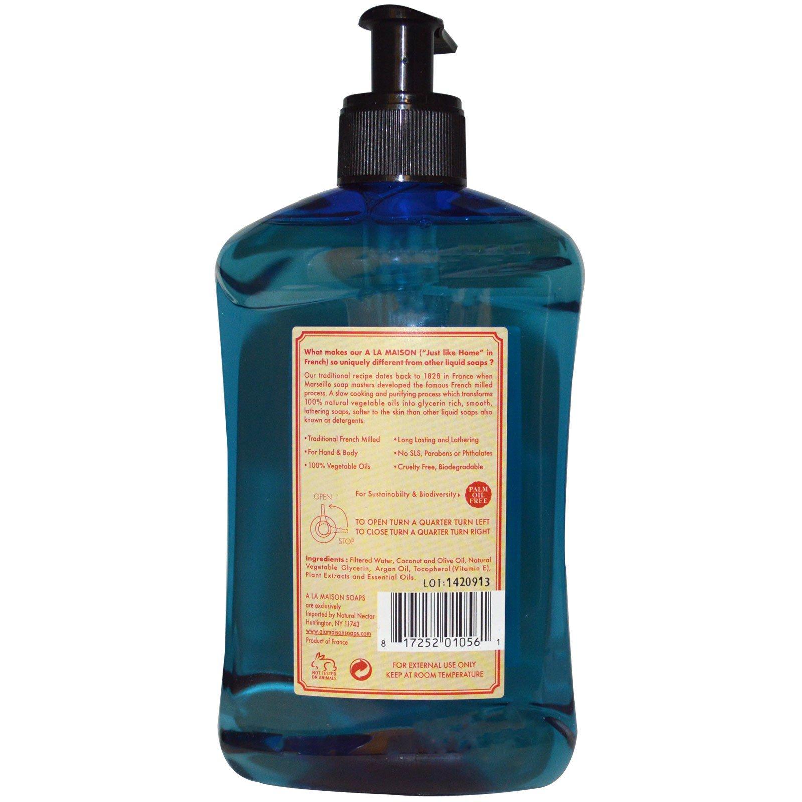 A la maison de provence hand body soap summer rose 16 for A la maison de provence