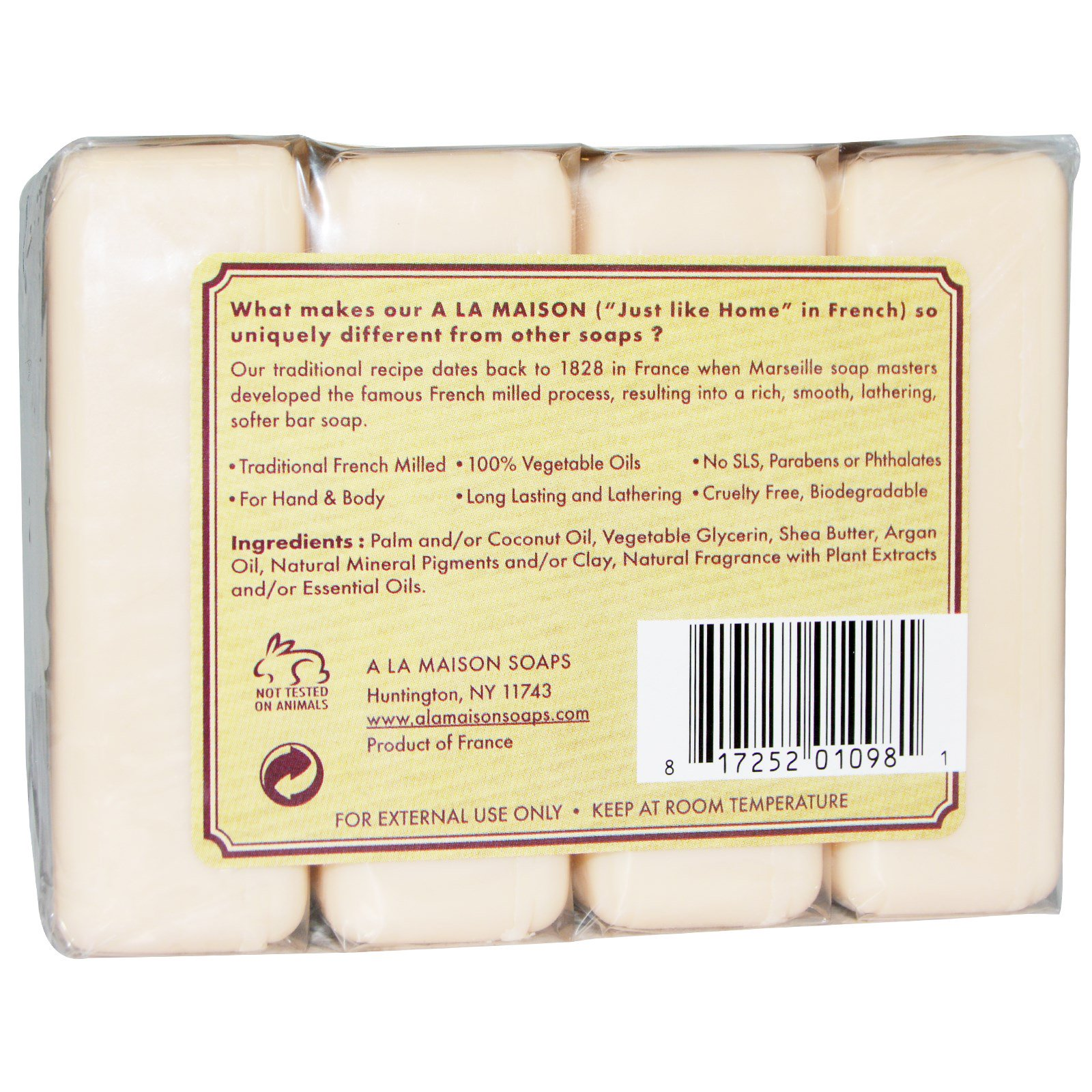 A la maison de provence hand body bar soap fig basil for A la maison de provence