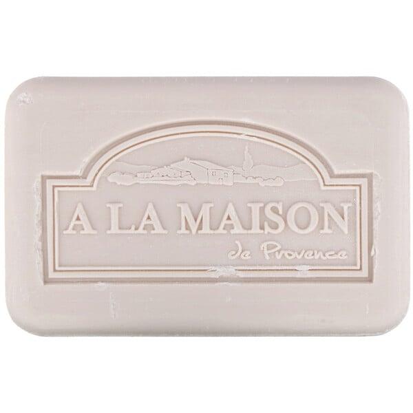 A La Maison de Provence, Barra de jabón para manos y cuerpo, crema de coco, 8,8 oz (250 g)