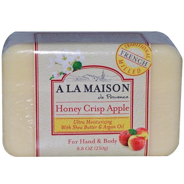 A La Maison de Provence, Медово-яблочное мыло, 250 г (8,8 унций) (Discontinued Item)