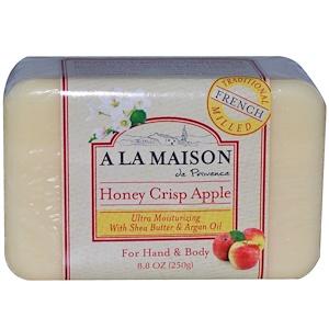 А Ла Мэзон Дэ Прованс, Honey Crisp Apple Bar Soap, 8.8 oz (250 g) отзывы