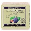 A La Maison de Provence, Hand & Body Bar Soap, Fig & Basil, 3.5 oz (100 g)