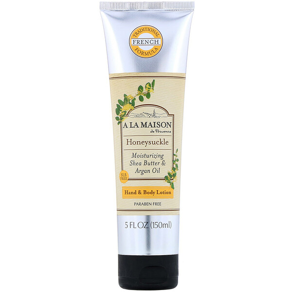 Hand & Body Lotion, Honeysuckle, 5 fl oz (150 ml)