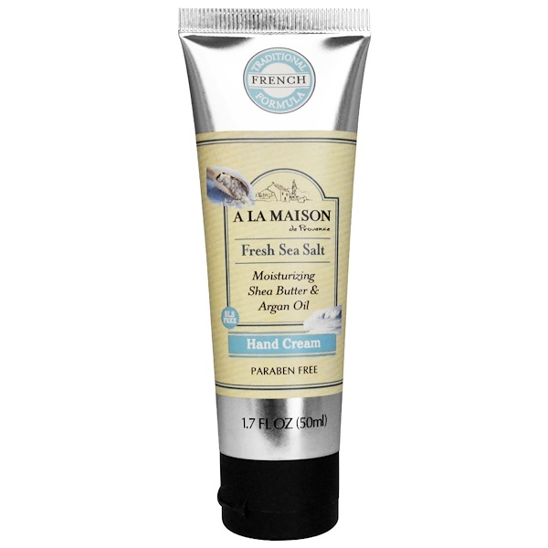 A La Maison de Provence, Hand Cream, Fresh Sea Salt, 1.7 fl oz (50 ml) (Discontinued Item)