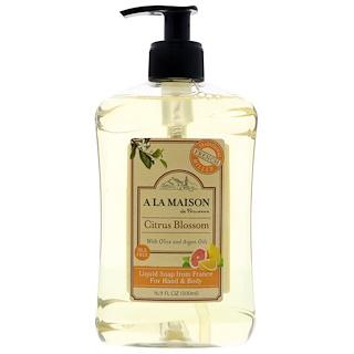 A La Maison de Provence, Liquid Soap For Hand & Body, Citrus Blossom, 16.9 fl oz (500 ml)
