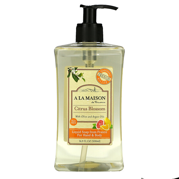 Hand & Body Liquid Soap, Citrus Blossom, 16.9 fl oz (500 ml)
