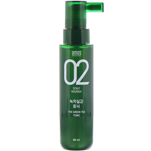 02 Scalp Nourish, The Green Tea Tonic, 80 ml