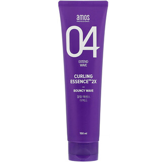 Amos, 04 Extend Wave, Curling Essence 2X, 5 fl oz (150 ml)