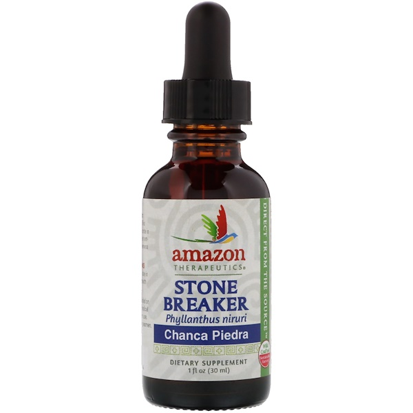 Amazon Therapeutics, Stone Breaker, Chanca Piedra, 1 oz (30 ml)