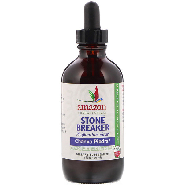 Amazon Therapeutics, Stone Breaker, Chanca Piedra, 4 fl oz (120 ml)