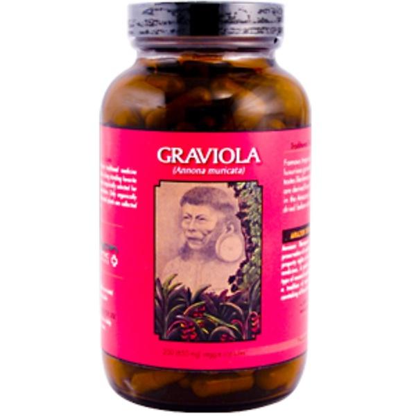 Amazon Therapeutics, Graviola, 650 mg, 200 Veggie Caps (Discontinued Item)