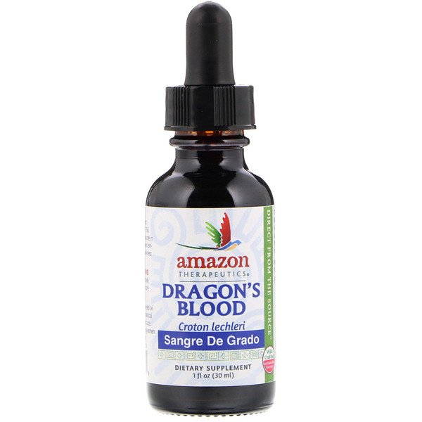 Amazon Therapeutics, Sangre de Grado, Dragon's Blood, 1 oz (30 ml)