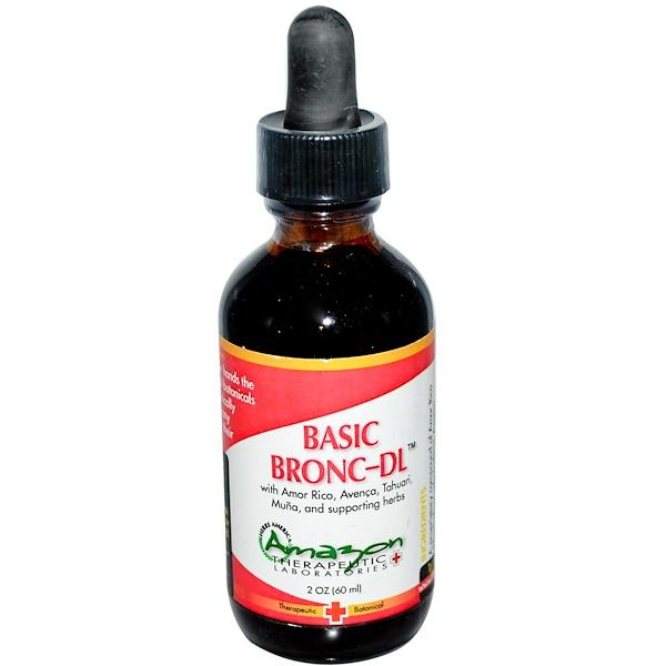 Amazon Therapeutics, Basic Bronc-DL, 2 oz (60 ml) (Discontinued Item)