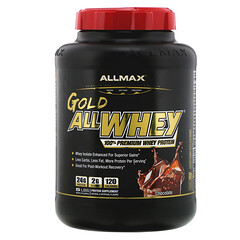 ALLMAX Nutrition, Gold AllWhey, 100% Premium Whey Protein, Chocolate, 5 lbs (2.27 kg)