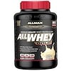 """ALLMAX Nutrition, AllWhey Gold, 100% חלבון מי גבינה + איזולט חלבון מי גבינה משובח, וניל צרפתי, 5 lbs. (2.27 ק""""ג)"""