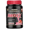 ALLMAX Nutrition, Isoflex, Pure Whey Protein Isolate (WPI Ion-Charged Particle Filtration), Strawberry, 2 lbs. (907 g)