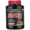 ALLMAX Nutrition, Isoflex, Pure Whey Protein Isolate (WPI Ion-Charged Particle Filtration), Chocolate Mint, 5 lbs (2.27 kg)