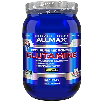 100% Pure Micronized Glutamine, 2.20 lbs (1,000 g)