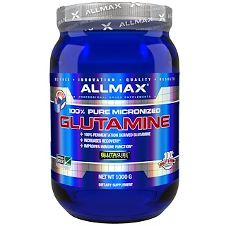 ALLMAX Nutrition, 100% Pure Micronized Glutamine, 2.20 lbs (1000 g)