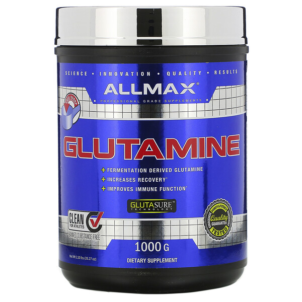 Glutamine, 2.20 lbs (1,000 g)