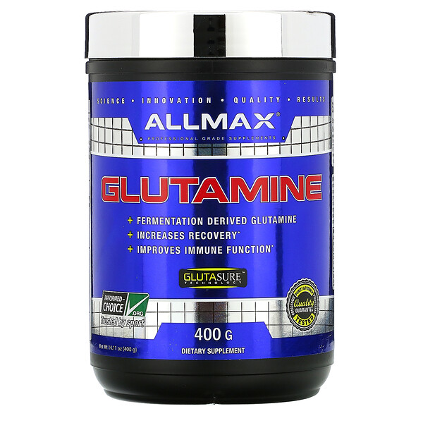 ALLMAX Nutrition, 100% Pure Micronized Glutamine, 14.1 oz (400 g)