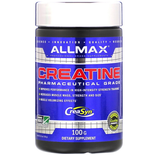 Creatine, Pharmaceutical Grade, 3.53 oz (100 g)