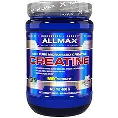 ALLMAX Nutrition, 100% Pure Micronized Creatine, 14.1 oz (400 g)