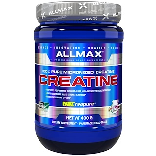 ALLMAX Nutrition, 100% Pure Micronized Creatine, 14.1 oz (400 g)