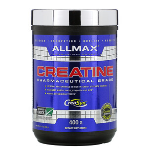 Оллмакс Нутришн, Creatine Powder, 100% Pure Micronized Creatine Monohydrate, Pharmaceutical Grade Creatine, 14.11 oz (400 g) отзывы покупателей