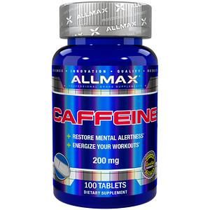 ALLMAX Nutrition, Caffeine , 200 mg, 100 Tablets