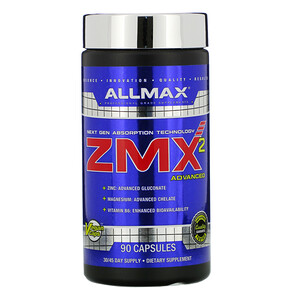 Оллмакс Нутришн, ZMX2 High-Absorbtion Magnesium Chelate, 90 Capsules отзывы покупателей