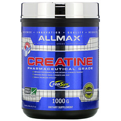ALLMAX Nutrition, 肌酸粉,純微粉化肌酸一水合物,醫藥級肌酸,35.27 盎司(1000 克)