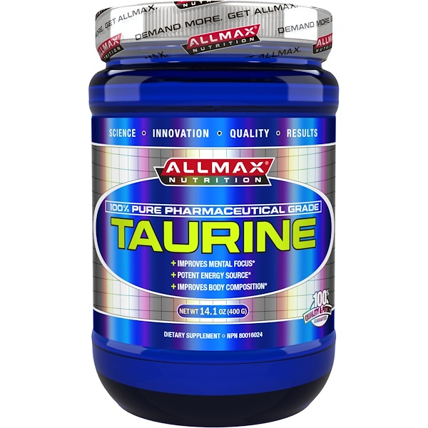 ALLMAX Nutrition, Taurine, 14.1 oz (400 g) (Discontinued Item)
