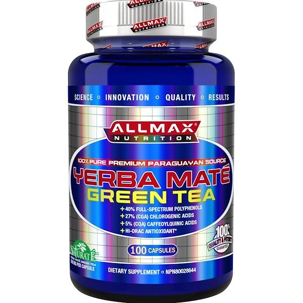 ALLMAX Nutrition, Yerba Mate, 100 Capsules (Discontinued Item)