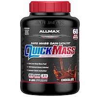 QuickMass  Rapid Mass Gain Catalyst, Chocolate, 6 lbs (2.72 kg) - фото