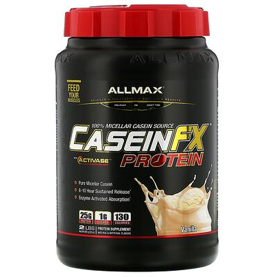 Купить ALLMAX Nutrition CaseinFX, 100%-ный казеиновый мицеллярный протеин, ваниль, 907 г