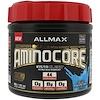 ALLMAX Nutrition, AMINOCORE, BCAA, 8G BCAAs, 100% Pure 45:30:25 Ratio, Gluten Free, Blue Raspberry, 1.02 lbs (462 g)