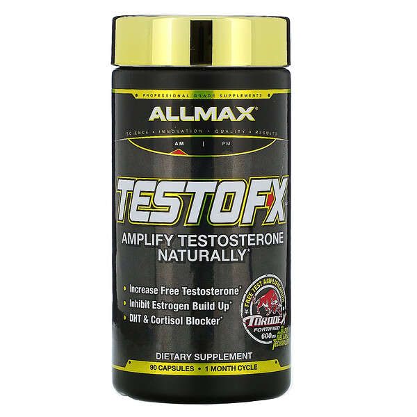 TestoFX(テストFX)、カプセル90粒