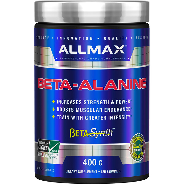 ALLMAX Nutrition, Beta-Alanine, 14.1 oz (400 g)